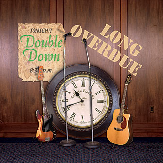 Double Down - Long Overdue cover design by Moxie & Magic