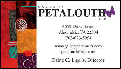 Gallery Petalouth business card design by Robin Reid